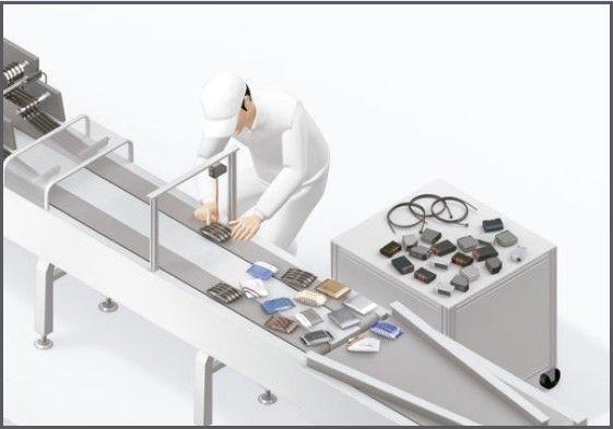 Cadena montaje - Sensor Fotoeléctrico de las serie E3AS