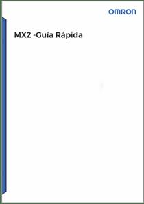 Guia Rapida MX2 - Manuales Omron