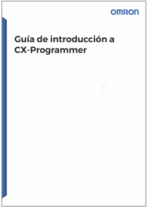 Guia de introduccion CX Programmer - Manuales Omron