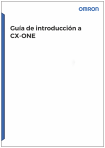 Guia introduccion cx one - Manuales Omron