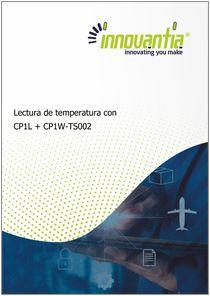 Lectura de temperatura desde CP1L Tarjeta TS0002 - Manuales Innovantia