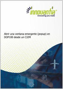 Popup DOP100 desde CJ 1 - Manuales Innovantia