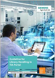 Guia de manejo de librerias en TIA Portal en - Manuales Siemens