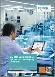 SIMATIC WinCC Unified Tips and Tricks for Scripting JavaScript - Manuales Siemens