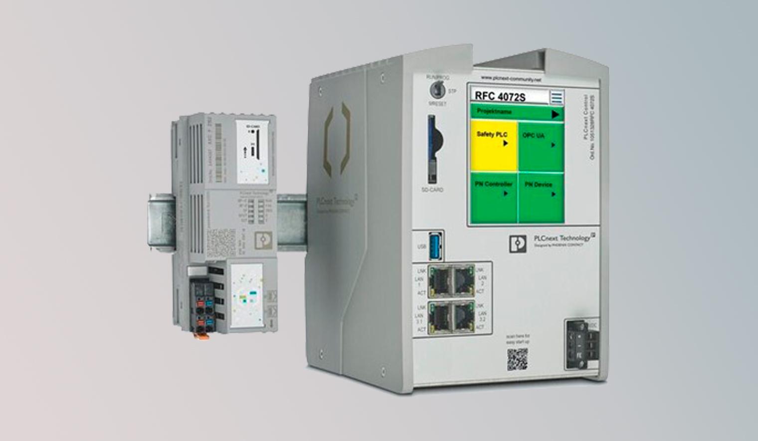 plc controls - PLCnext Control en dos clases de potencia